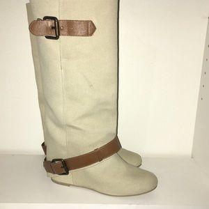 Aldo Boots with hidden wedge heel